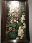 Hollyhocks (1872)-Mariano Fortuny