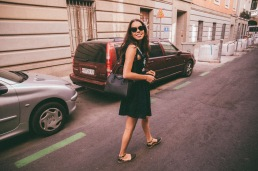 Outfit: Dress - Zara, Bag - Givenchy, Espadrilles - random shop in Italy