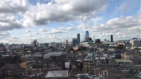 London view from near Borough Market