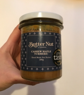 Turmeric and Maple Cashew Butter
